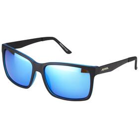 Alpina Don Hugo black matt-blue/blue mirror